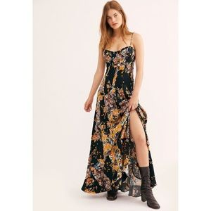 Free People Under the Moon Light Patchwork Dress